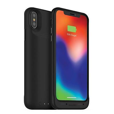 mophie - Juice Pack Air External Battery Case with Wireless Charging for Apple X