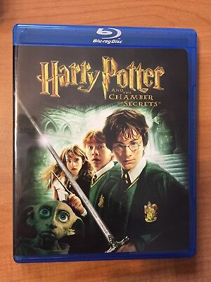 Harry Potter and the Chamber of Secrets Blu-ray Disc 2007 & Special Movie Extras