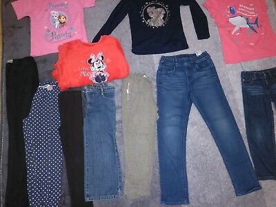 45 items large Job lot girls clothes 3-10 years old Bargain Gap, Monsoon, Uniqlo
