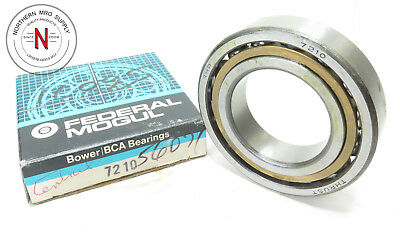 RHP 7210 ANGULAR CONTACT BEARING, 50mm x 90mm x 20mm, FIT C0, 39° CONTACT