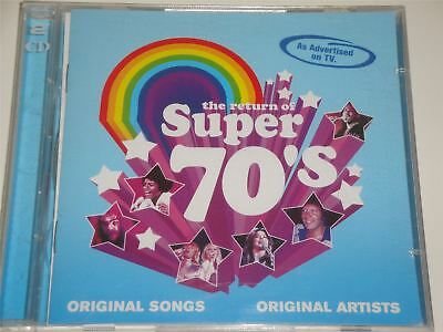 The Return Of Super 70's (CD Album) 46 Greatest Seventies Hits