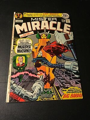 Mister Miracle #5 (Dec 1971 Dc) Granny Goodness App Jack Kirby Mid Grade Fn!
