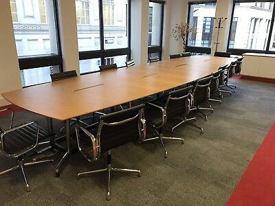 Office Meeting Room Boardroom Table And Chairs