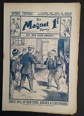 The Magnet Library Comic - 666 - Nov 13th 1920  Vintage
