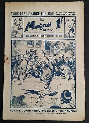 The Magnet Library Comic - 665 - Nov 6th 1920  Vintage