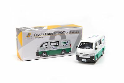 TINY Hong Kong Toyota Hiace HK #27 Post Office SpeedPass car diecast 7.5CM long