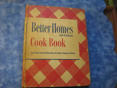 VINTAGE BETTER HOMES AND GARDENS COOK BOOK 1947 5-Ring Binder