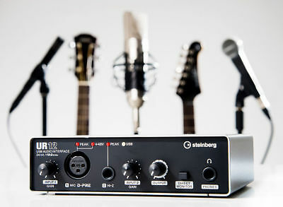 Yamaha Steinberg UR12 USB Audio Interface