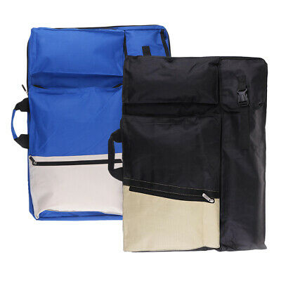 Art Portfolio Tote Case Bag Sketch Draw Board Carry Backpack Water-resistant