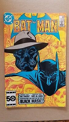 Batman #386 1st Black Mask DC Comics 1985 Birds of Prey Movie Villain NO RESERVE