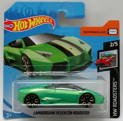 Hot Wheels Lamborghini Reventon Roadster Hw Roadsters 2 5 Short