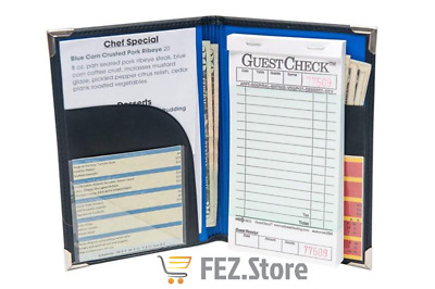 Server Book For Waitress | Waitress Book That Fits In Server Apron | Waitstaff O