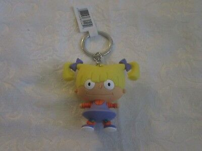 Loose Monogram Figural Nickelodeon Series 1 Ren Hoek Keyring Key Chain