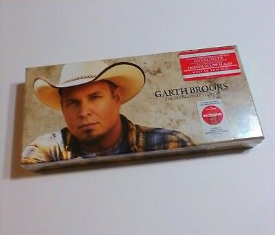 GARTH BROOKS CD BOXED SET 10 CDs Ultimate Collection & Extras COUNTRY Music -NEW