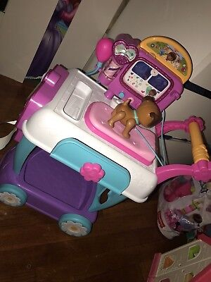 Doc Mcstuffins Toy Hospital Care Cart With Dress Up Outfit
