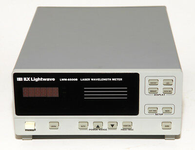 ILX Lightwave / Newport LWM-6500B Wavelength Meter. Heads are NOT INCLUDED.