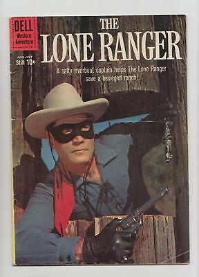 The Lone Ranger #134 Photo Cover (Dell 1960) VG/FN 5.0 Nice Copy