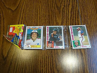 1984 Topps Baseball Unopened Rack Pack With Don Sutton On Back