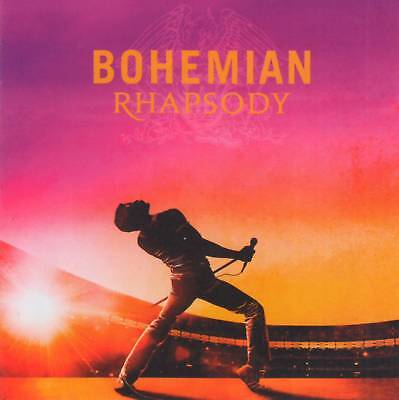 QUEEN - BOHEMIAN RHAPSODY - OST ORIGINAL SOUNDTRACK (2018)  CD Jewel Case+GIFT
