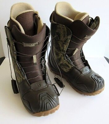 Burton Driver X Mens Snowboarding Boots Size 11.5 Used But In Great Condition