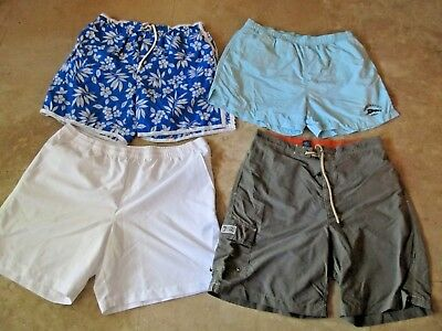 Lot, 4 mens size L,large shorts, swimsuits, Tommy Bahama, Polo Ralph Lauren