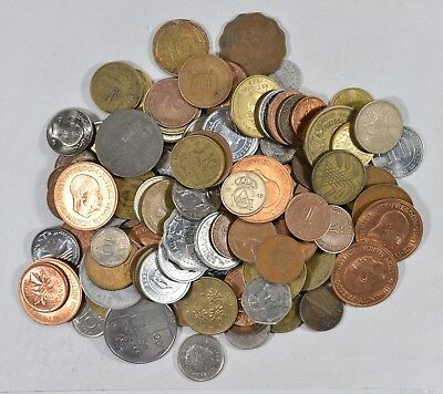 Roughly a POUND of Mixed World Coins - Great Mix *188
