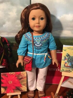 American Girl GOTY 2013 Saige Copeland Doll Lot-W/Retired Items-1 Of A Kind Lot
