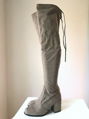 125d89e246c STEVE MADDEN SLAYER Boots Color Grey Size  US 7.5  SH36 -  44.99 ...