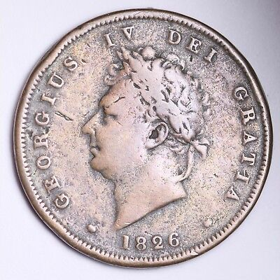 1826 Great Britain Farthing Free Shipping A7