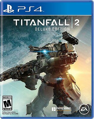 New! TITANFALL 2 DELUXE EDITION PS4 PlayStation 4 Sony SEALED BRAND NEW EA 2016