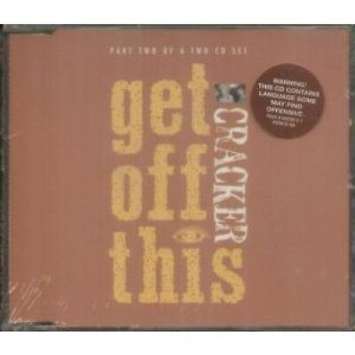 CRACKER Get Off This CD UK Virgin 1994 4 Track Part 2 B/w F**king Up Live, B