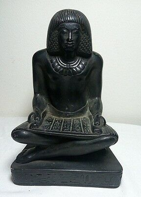 RARE ANCIENT EGYPTIAN ANTIQUE SCRIBER Statue 1789-1564 BC