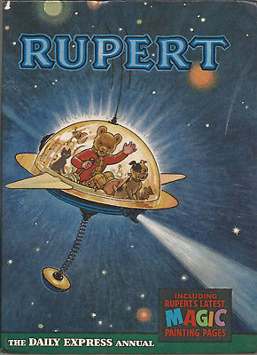 1966 Rupert annual many magic paintings not done VGC