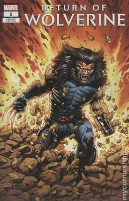 Return of Wolverine (Marvel) 1D 2018 McNiven Age of Apocalypse NM Stock Image