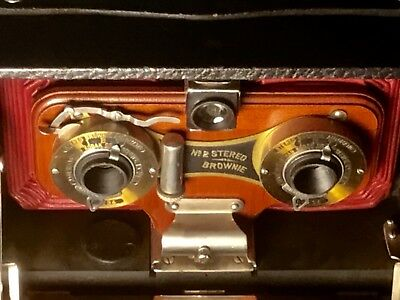 Kodak Brownie Stereo   #2  A. Antique Film Camera