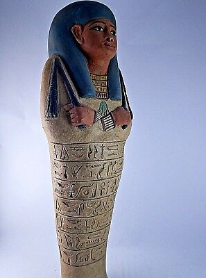 HIEROGLYPH USHABTI ANCIENT EGYPTIAN ANTIQUE Queen Tomb 1756-1532 BC