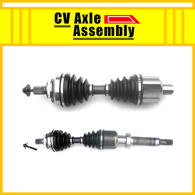 Front Pair CV Axle 2PCS For 1999-2003 VOLVO S80 (Without Visco Clutch,FWD)Shaft