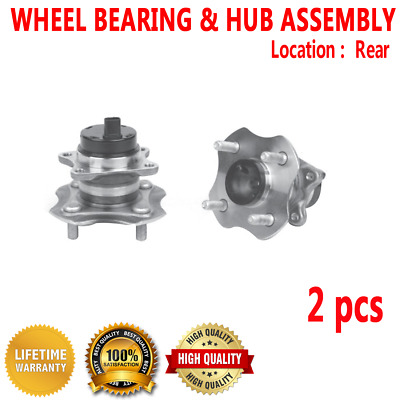 One Bearing Included With Two Years Manufacturer Warranty 2009 fits Ford Focus Rear Wheel Bearing