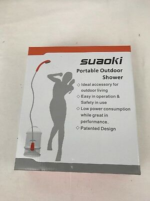 SUAOKI Portable Camping Shower Battery with Separate Rechargeable Battery