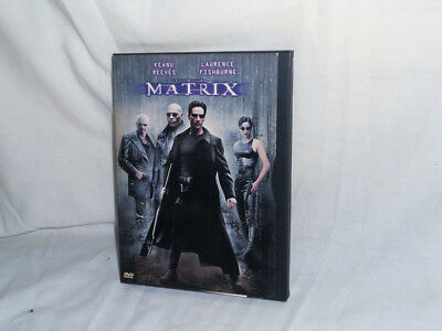 The Matrix Laurence Fishburne Keanu Reeves DVD 1999