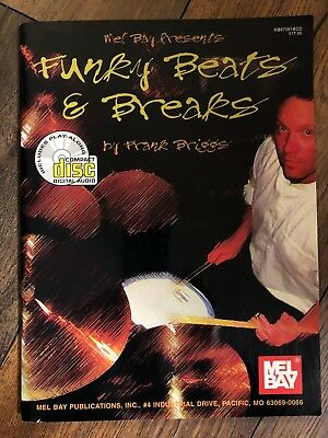 Funky Beats and Breaks - Frank Briggs - neues Buch mit CD!