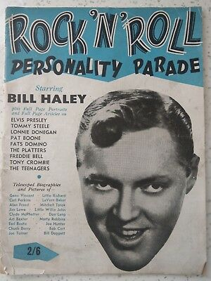 Rock 'n' Roll Personality parade Magazine 1958