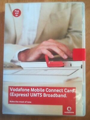 Vodafone Mobile Connect Card UMTS Express Card HDSPA UMTS, EDGE, GPRS