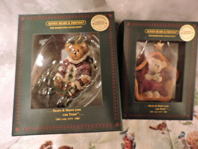 Boyds Christmas Ornaments for Longaberger