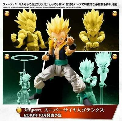 BANDAI S.H.Figuarts Dragonball Z SUPER SAIYAN GOTENKS US SELLER Authentic