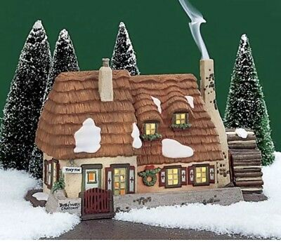 Dept 56 Dickens Xmas Village Heritage The Christmas Carol Cottage #58339 RETIRED