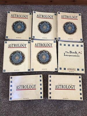 Learn & Understand Astrology Set - Hachette - 107 issues very rare