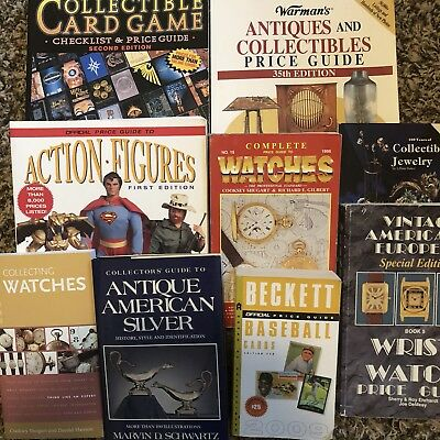 Lot Of 9 Antique & Collector's Price Guides