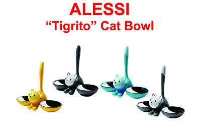 ALESSI Tigrito Cat Bowl Various Colours FREE DELIVERY