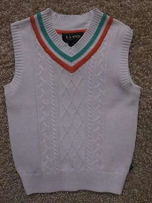 2f4cc27d4 TOMMY HILFIGER BOYS Sweater Vest Pull Over V neck Size 5 New  39.50 ...
